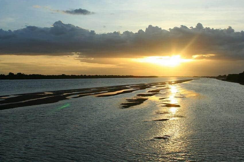 A poluição dos rios do RN