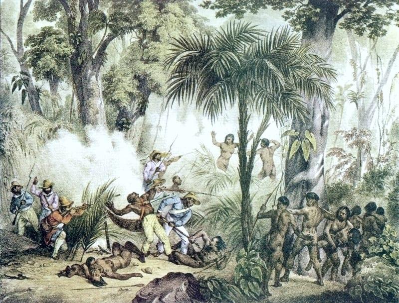 Os levantes tapuia em 1687 e 1700
