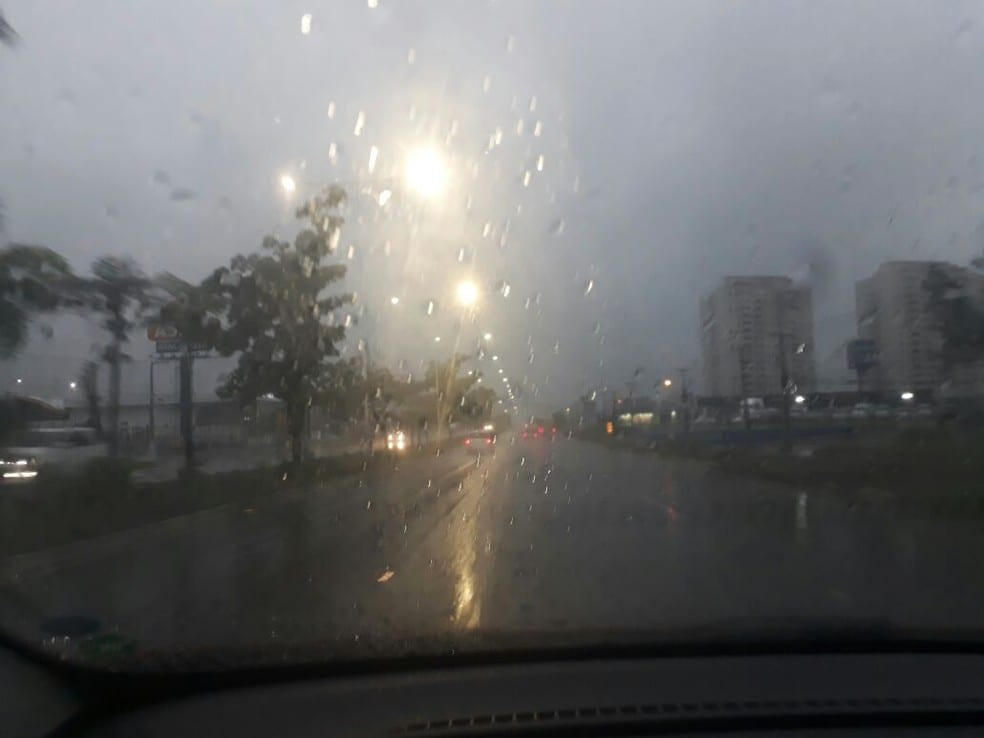 Chuva em Natal